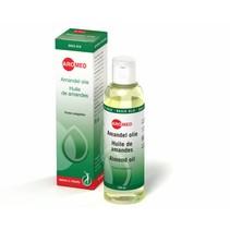 >Amandel olie wordt snel opgenomen door de huid, omdat het lijkt op lichaamseigen talg. Gebruik het puur of combineer met crème en breng aan op de huid. Je kunt het gebruiken voor je hele lichaam, of aanbrengen op enkele droge of geïrriteerde plekjes. Het