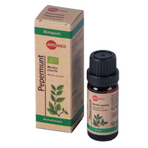 Biologisk pebermynte æterisk olie 10 ml