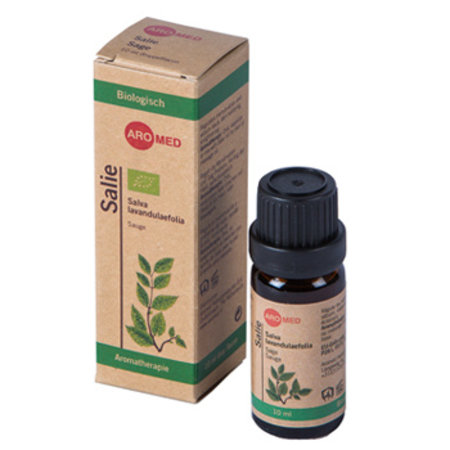 Aromed Biologische Salie etherische olie - 10 ml