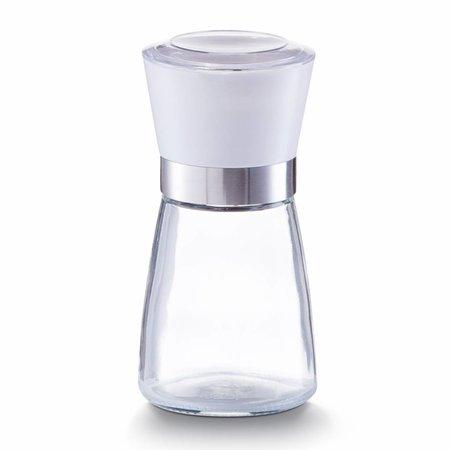 Zeller Pfeffermühle aus Glas, weiß - M