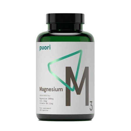 Puori Puori Magnesium 3- 120 tabletter