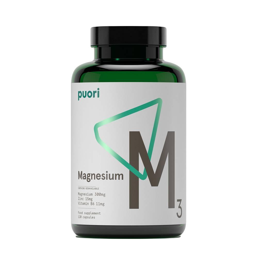 Puori Magnesium 3- 120 tabletter