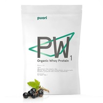 PW1 biologisch prote‹ne poeder zwarte bes