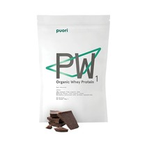 PW1 økologisk protein pulver dark chokolate- 900 gr