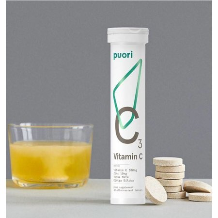 Puori C3 vitamine C- 20 tabletten