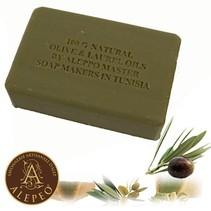 Aleppo Shaped soap Natural 100 grams
