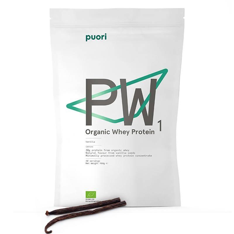 PW1 biologisk proteinpulver vanilje