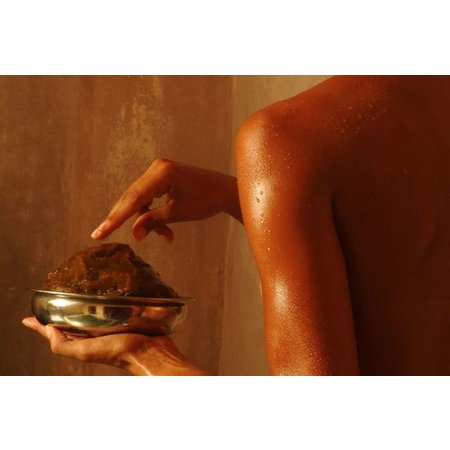 Alassala Marokkaanse zwarte zeep 200ml