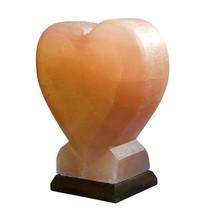 Himalaya salt lampe salt hjerte - 5-6kg