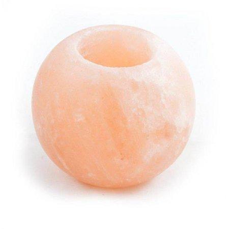 Nutrikraft zout theelicht bol rond geslepen - 600g