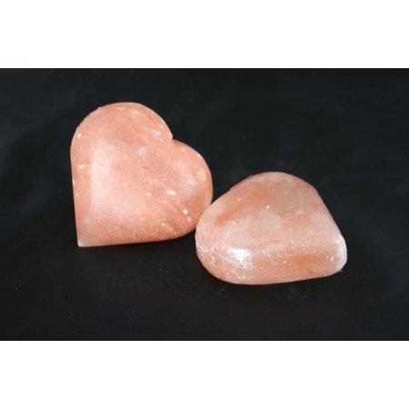 Nutrikraft sauna og peeling salt sten hjerte 100-110g
