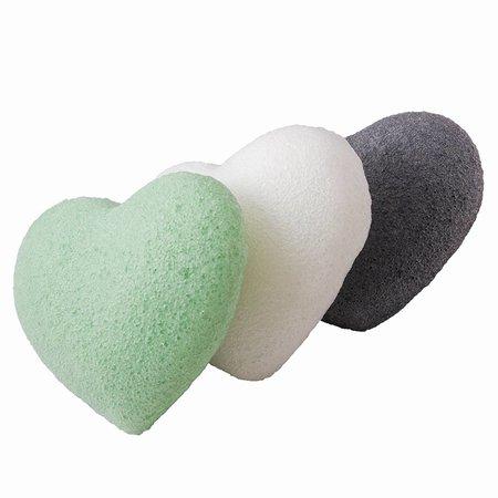 Nutrikraft Konjac svamp grøn te grøn - hjerte