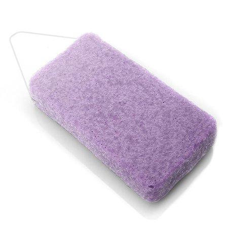 Nutrikraft Konjac spons lavendel paars - rechthoek