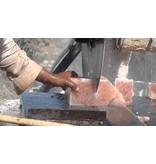 Nutrikraft Himalaya salt fyrfadslys hjerte medium - 450g
