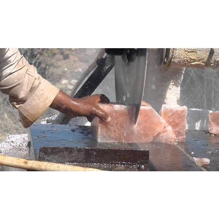 Himalaya salt fyrfadslys hjerte medium - 450g
