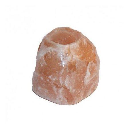 Teelicht aus Himalaya-Salz - grob geschlagen - 0,9-1,2