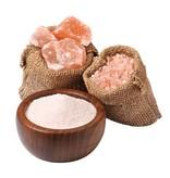 Nutrikraft pink Himalaya salt fint bordsalt - 1 kg
