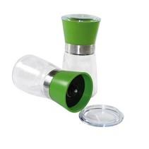 mittelgroße Gewürzmühle - grün- 13 cm