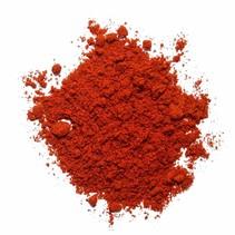 Økologisk rød paprika ædle sød jorden