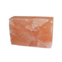 Salt stone Himalayan salt salt tile 20x10x5 front rough