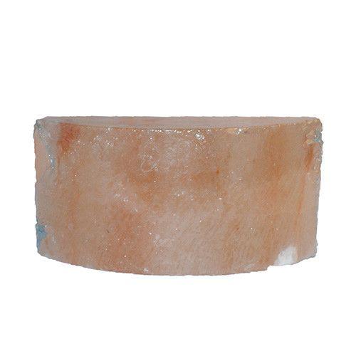 Zoutgrot bouwsteen zouttegel halfrond 20x10x5