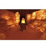 Nutrikraft Zoutgrot bouwsteen zouttegel halfrond 20x10x5