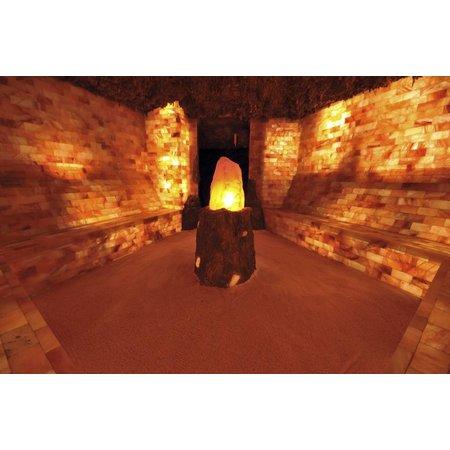 Nutrikraft salt grotte salt mursten fliser halvkugle - 20x10x5
