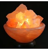 Nutrikraft Himalaya salt lampe salt salt skala - 1-2kg