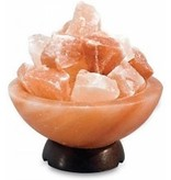 Naturaplaza zoutlamp himalayazout zoutschaal 1-2kg
