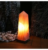 Nutrikraft zoutlamp himalayazout obelisk 3-4kg