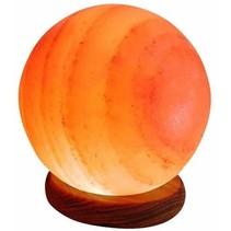 salt Himalaya salt lampe pære - 4-5kg
