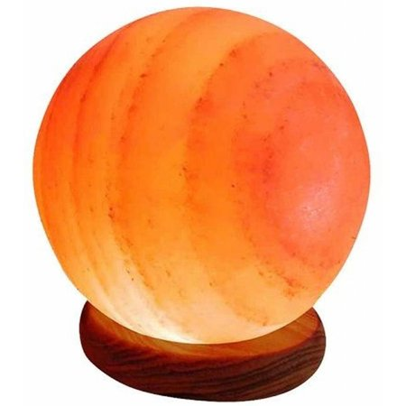 Nutrikraft Himalaya-Salzlampe - Kugel - 4-5kg