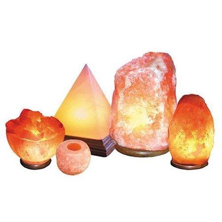 Nutrikraft salt lampe blomst Himalaya salt lampe rose - 4-5kg