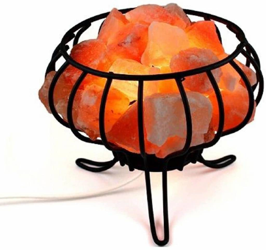 zoutlamp himalayazout vuurkorf - 3kg