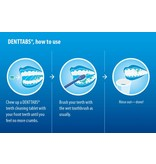 Denttabs Børstning uden fluorid tabletter - 125 stykker