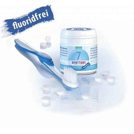 Denttabs Zahnputztabletten - Stevia - 125 Stück