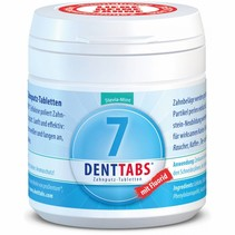 tandenpoets kauw tabletten Stevia extract 125 stuks
