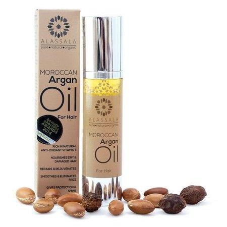 Alassala Marokkansk Argan olie til hår 50ml