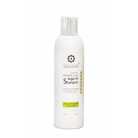 Alassala Shampoo Økologisk Moroccan Argan olie og Aloe Vera - 250ml