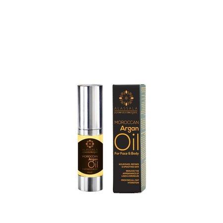 Alassala Marokkaanse argan olie Bio gezicht en lichaam 15 ml
