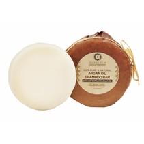 Shampoo Selvfølgelig arganolie sæbe blok rundt-85 gram