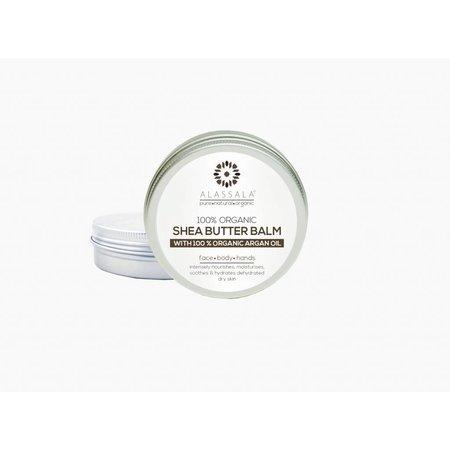 Alassala Shea boter balm 100 % Bio arganolie Naturel 50 ml