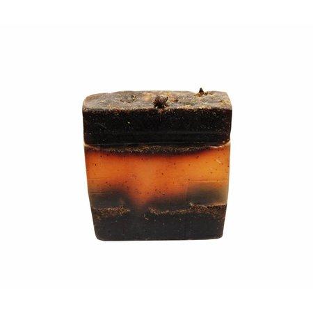 Alassala Zeepblok Koffie scrub Argan olie zeep Biologisch- 100 gram