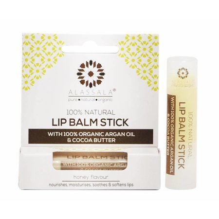 Alassala naturlig læbepomade stick 10g honning