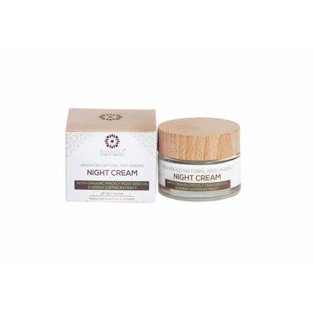 Alassala Nachtcrème avanced Anti-veroudering Biologisch - 50 ml