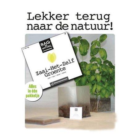 Bag-to-Nature Selbstgemüseanbau Geschenkbox - 1 Box 4 Aromen