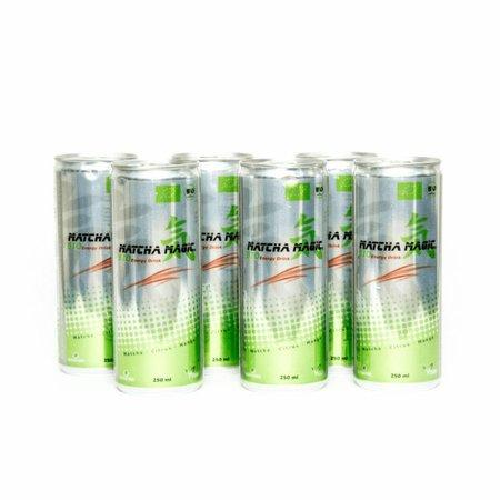 Matcha Magic Organisk Matcha energi drikke i dåser