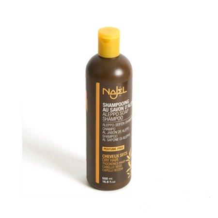 Najel Aleppo eco shampoo tørt hår - 500ml
