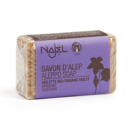 Najel Aleppo Seife mit Veilchenextrakt - 100g