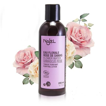 Najel verfissende Damaskus rose tonic bio - 200ml